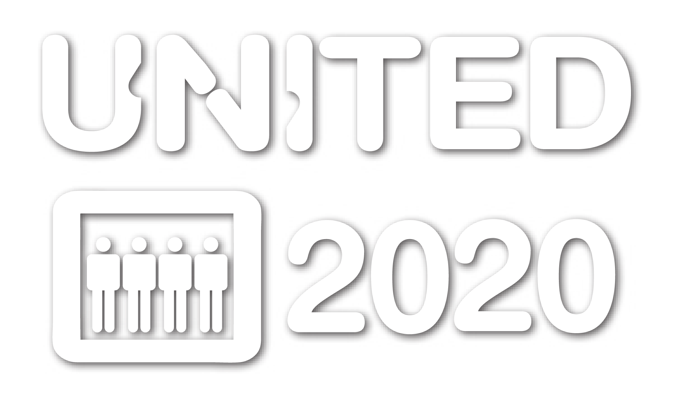 White UNITED Logo
